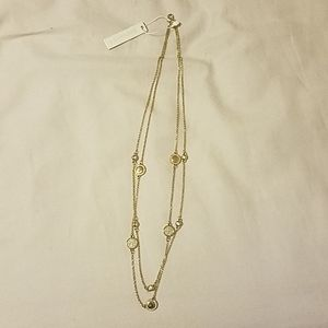 New Ann Taylor necklace gold